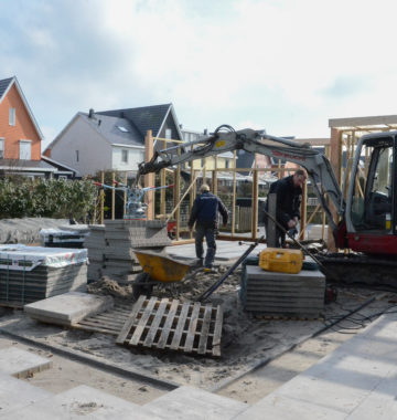 tuinrenovatie in de winter