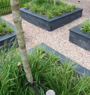 verhoogde plantenbakken